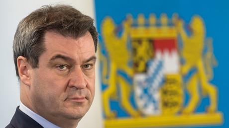 Baut Bayern zur Festung aus: Der neue Ministerpräsident Söder.