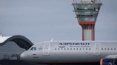Durchsuchung eines russischen Flugzeugs in London - Moskau spricht von Provokation (Symbolbild)