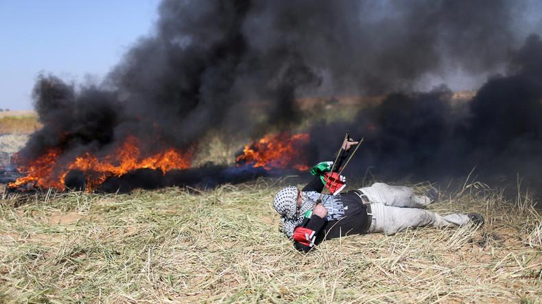 Israels Verteidigungsminister kündigt entschlossene Handlungen gegen Protestierende in Gaza an