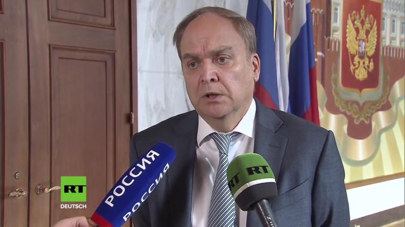 Russischer Botschafter: US-Spione versuchten Rekrutierung abreisender russischer Diplomaten