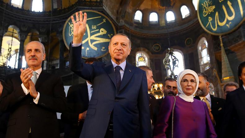 """Erdoğan nennt Netanjahu """"Terrorist"""" nach Gewalteskalation im Gazastreifen"""