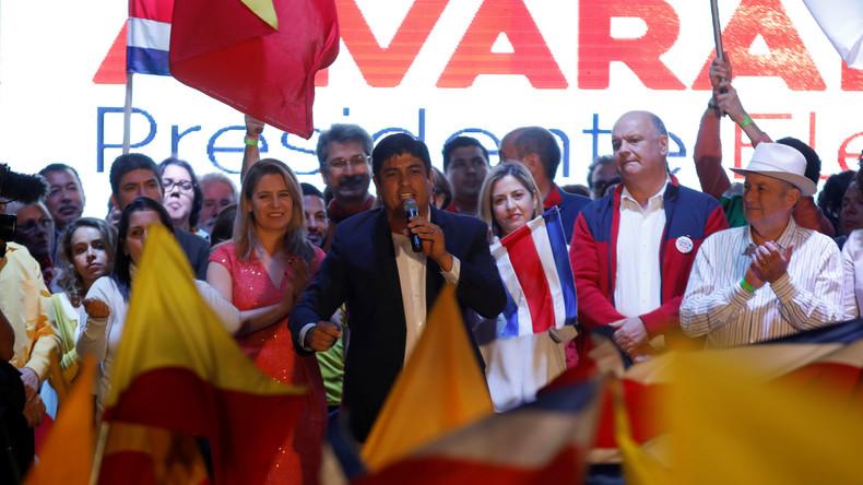Carlos Alvarado gewinnt Präsidentschaftswahl in Costa Rica