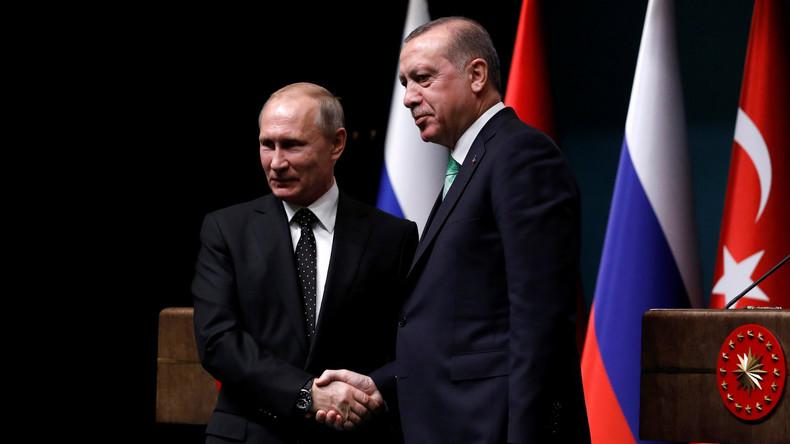 Treffen von Putin und Erdogan in Ankara: S-400-Luftabwehrsystem und Syrien auf der Agenda