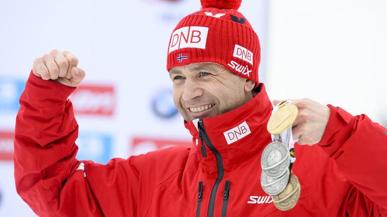 Norwegische Biathlon-Legende Bjørndalen beendet Sportkarriere
