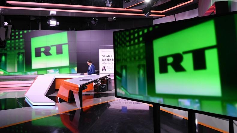 Wöchentliche Einschaltquoten von RT um mehr als ein Drittel gestiegen - 100 Millionen Zuschauer