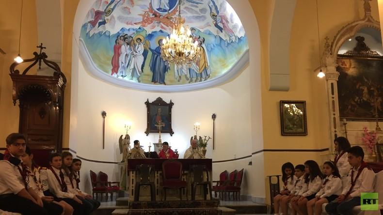 Damaskus: Christen feiern Ostern in der syrischen Hauptstadt