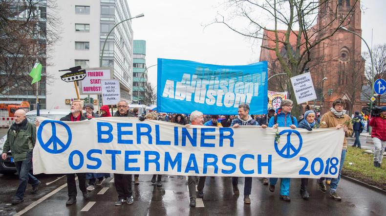 """Vorwurf """"Querfront"""": Wie die Friedensbewegung in  Deutschland sabotiert wurde"""