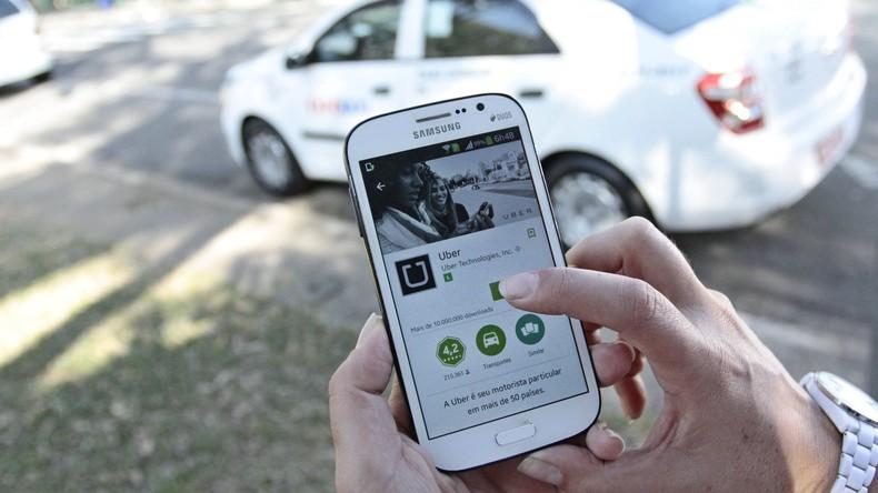 Brasilien: Taxifahrer von São Paulo begrüßen die Einführung eines Uber-Konkurrenten
