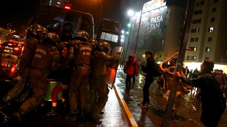 Chile: Mehrere Festnahmen bei Auseinandersetzung zwischen Mapuche-Aktivisten und Polizei