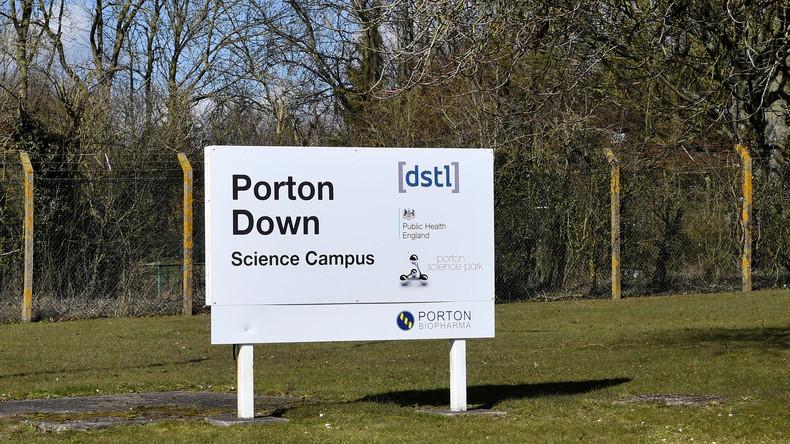 Geheimlabor Porton Down: Wir können keinen russischen Ursprung des Salisbury-Nervengases nachweisen