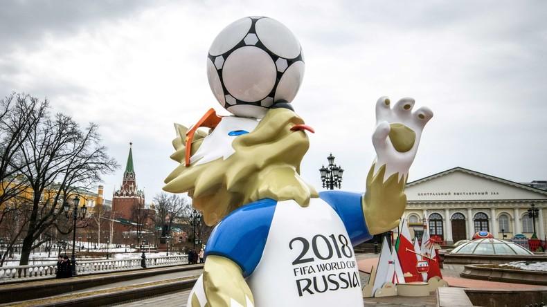 Zehn Wochen vor Start: Fast 1,7 Millionen Eintrittskarten zur Fußball-WM 2018 vergeben