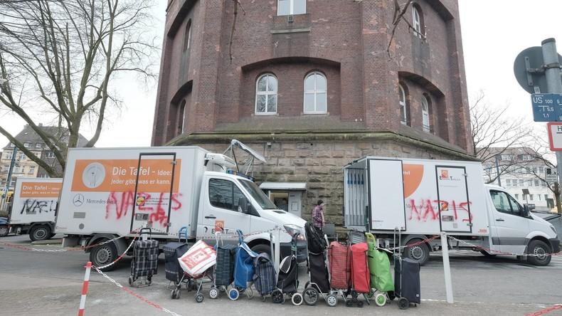 Essener Tafel: Zum vorerst letzen Mal Ausweise nur für Deutsche