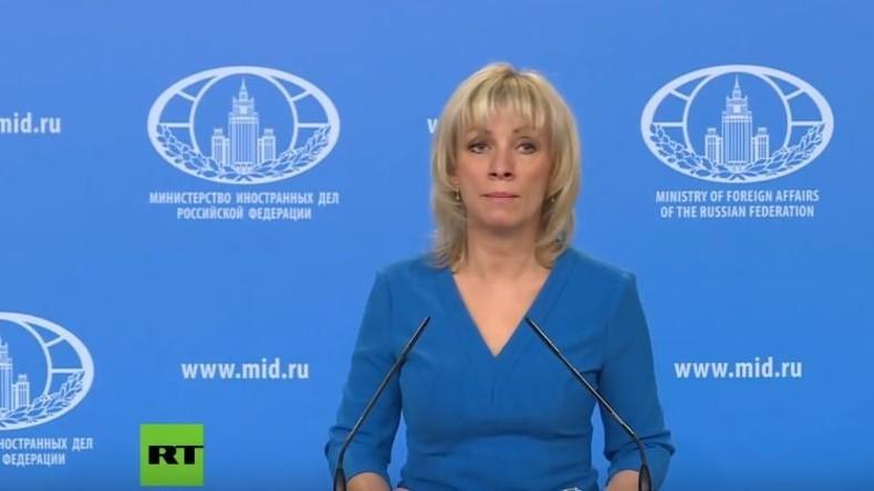 LIVE: Wöchentliche Pressekonferenz von Maria Sacharowa | Sprecherin des russischen Außenministeriums