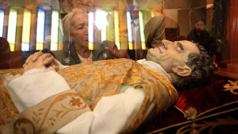 Italienische Kirche vermeldet Diebstahl von Heiligen-Gehirn