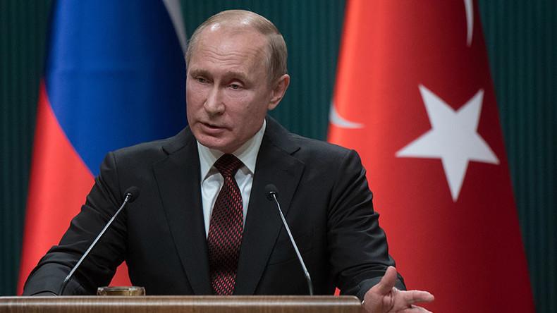 Putin: Wir warten nicht auf Entschuldigung, wir wollen, dass Menschenverstand triumphiert