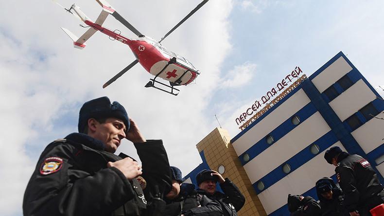 Brand in Moskauer Einkaufszentrum: ein Toter und sechs Verletzte