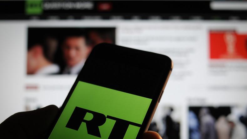 RT-Konten in Großbritannien bleiben bestehen