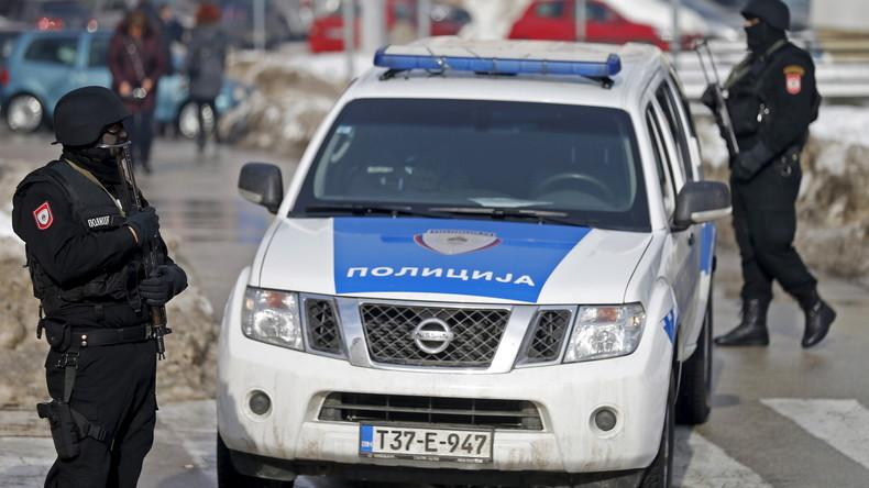 """Serbisches Polizei-Ausbildungszentrum in Bosnien: Russische Berater rufen """"Sorgen"""" hervor"""