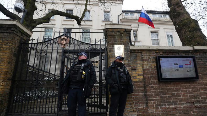 LIVE: Russischer Botschafter in Großbritannien Alexander Jakowenko gibt Pressekonferenz zu Skripal