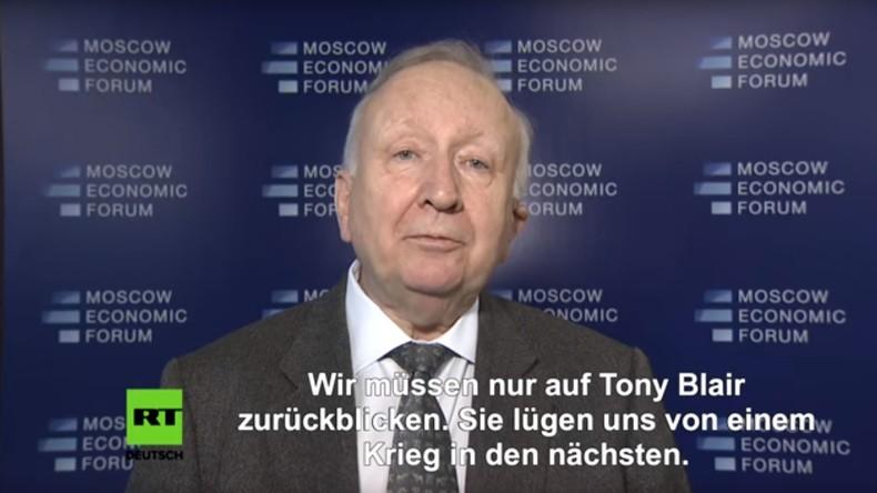 """Willy Wimmer zu Skripal: """"Die Briten lügen uns von einem Krieg in den nächsten"""" (Video)"""