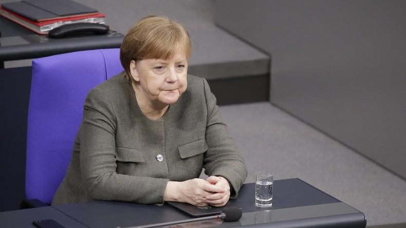 Umfrage: Zustimmung für Kanzlerin Merkel rückläufig