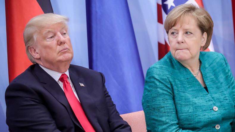 Weißes Haus bestätigt Treffen Merkels mit Trump