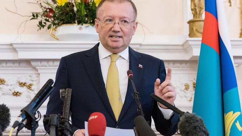 """Botschafter Jakowenko in London: """"Beide Skripals können jederzeit nach Russland zurückkehren"""""""