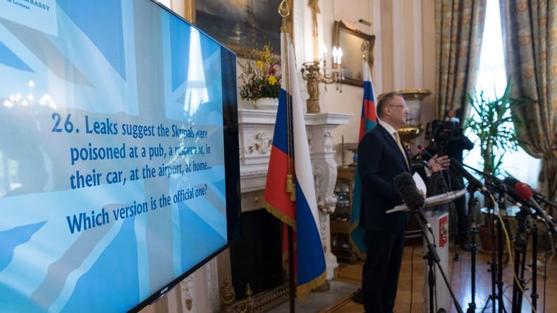 Skripal-Affäre: Warum Moskau den Propagandakrieg nicht gewinnen kann