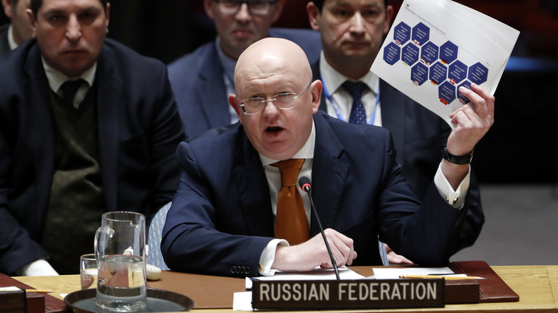 """""""Massenpsychose und Verstandsverlust"""": Russland geht bei der UNO in die Offensive"""