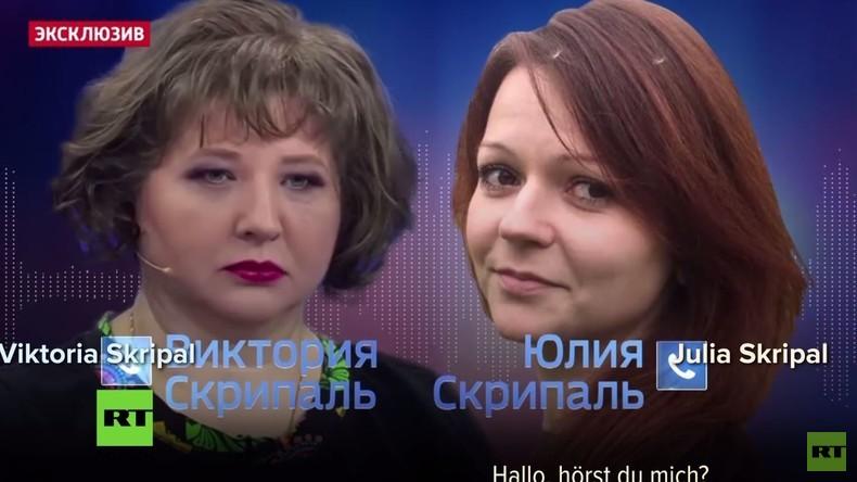 Exklusiv: Telefongespräch aus dem Krankenhaus zwischen Julia Skripal und deren Cousine