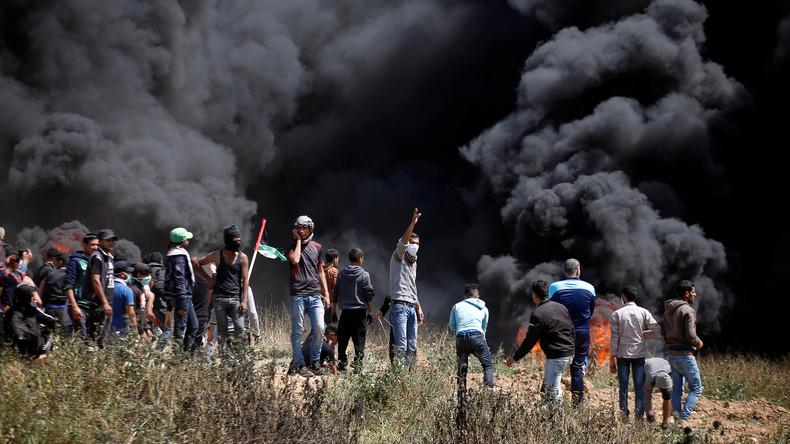 Neun Tote und 1.354 Verletzte bei Protesten an Gaza-Grenze