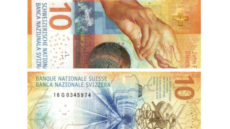 Geld ist sexy: Zehn-Franken-Schein gewinnt Schönheitswettbewerb für Banknoten