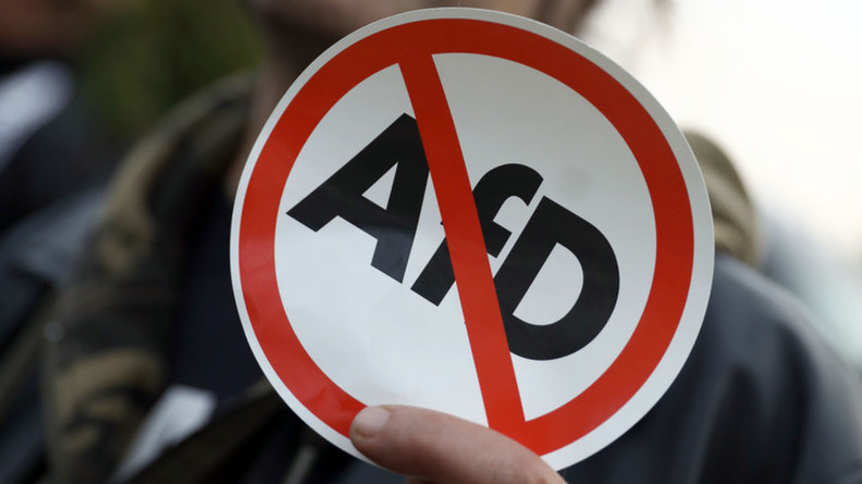 Proteste gegen AfD-Parteitag in Niedersachsen