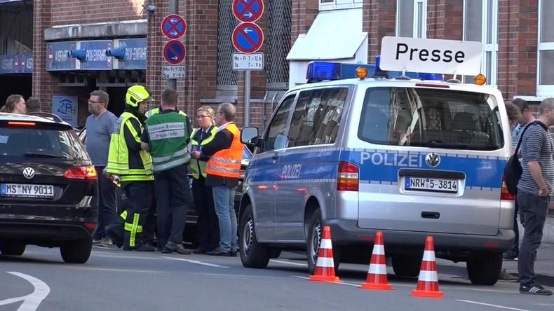 Bericht: Täter von Münster psychisch auffälliger Deutscher