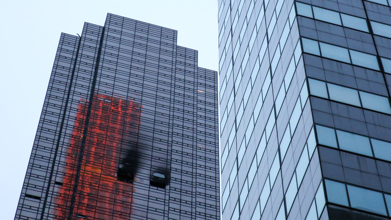 Mann stirbt bei Brand in Trump Tower