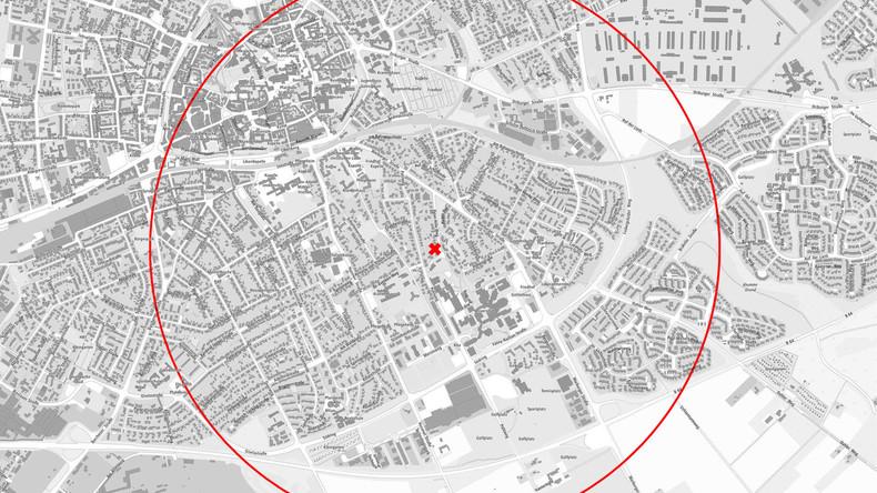 Evakuierung in Paderborn wegen Weltkriegsbombe