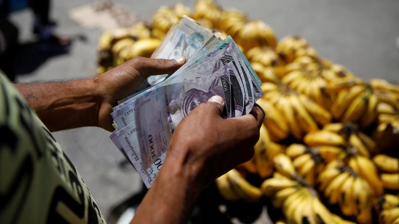 Schwarzmarkt-Kurs von Bolívar stürzt wegen Streitigkeiten zwischen Venezuela und Panama rapide ab