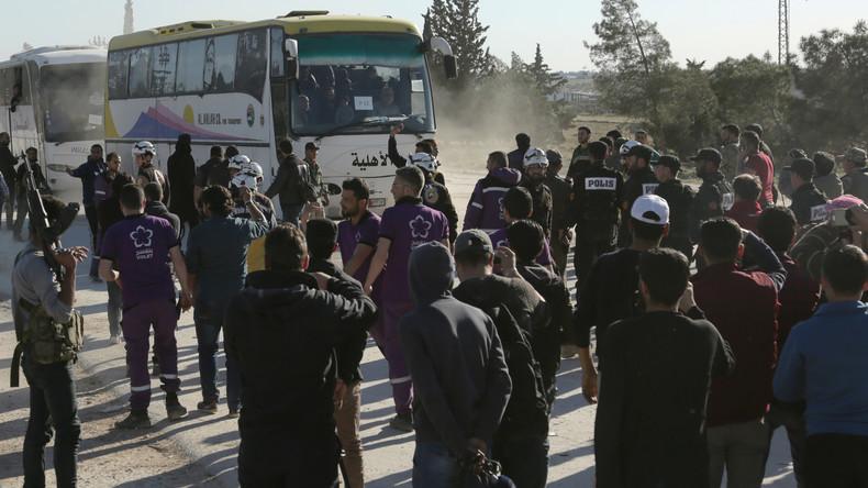 Syrische Staatsmedien: Islamisten ziehen aus Duma ab