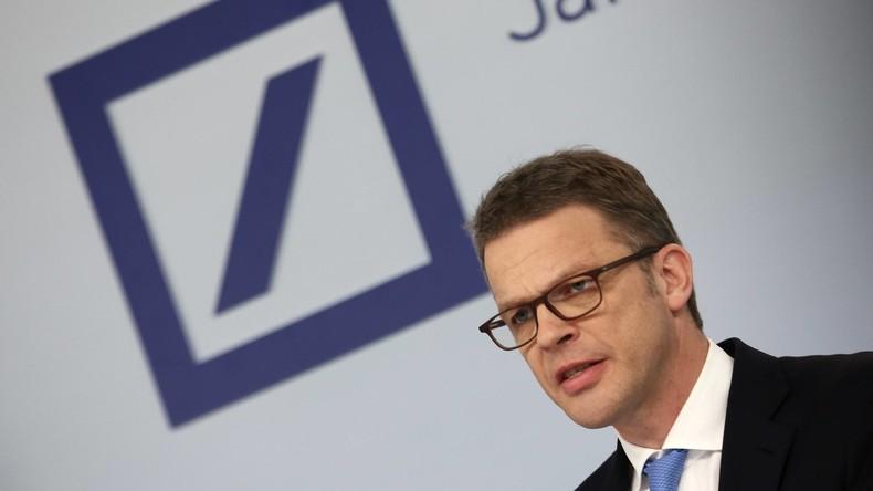 Chefwechsel bei der Deutschen Bank: Christian Sewing löst John Cryan ab