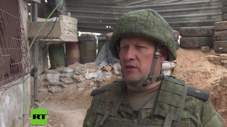 """Russischer Vertreter in Ghuta: Westen nutzt wieder seine Lieblingsgeschichte von """"Assads Giftgas"""""""