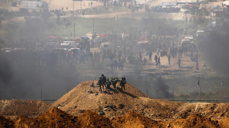 Nicht nur syrische Militärbasis: Israel fliegt auch Luftangriffe auf Hamas-Ziele im Gazastreifen