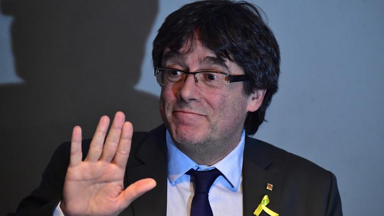 Puigdemont darf in Berlin bleiben, muss sich aber wöchentlich bei der Polizei melden