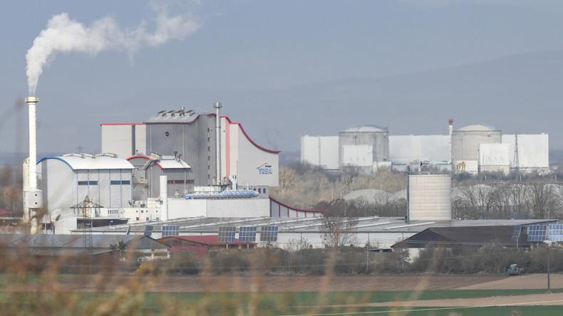 Abgeschalteter Reaktor Fessenheim 2 wieder am Netz