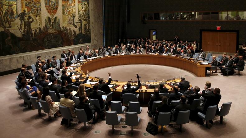 Video: UN-Sondersitzung zum angeblichen Giftgaseinsatz in Syrien