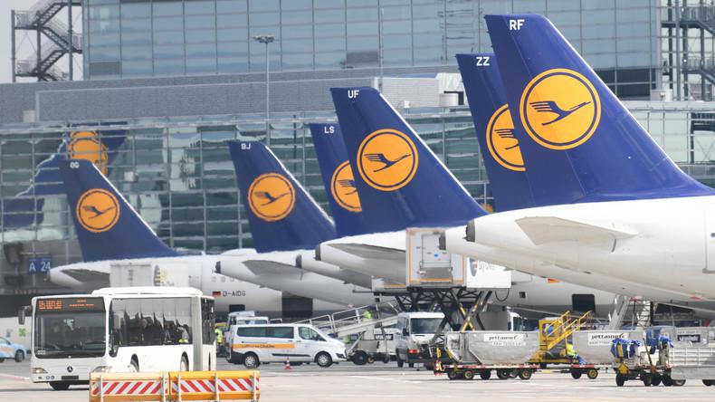 Warnstreik: Einschränkungen am Flughafen Frankfurt, 800 Flüge gestrichen