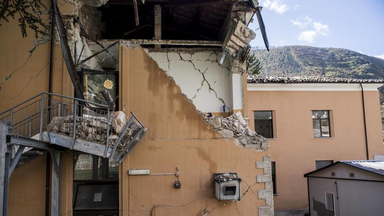 Erdbeben erschüttert erneut Mittelitalien