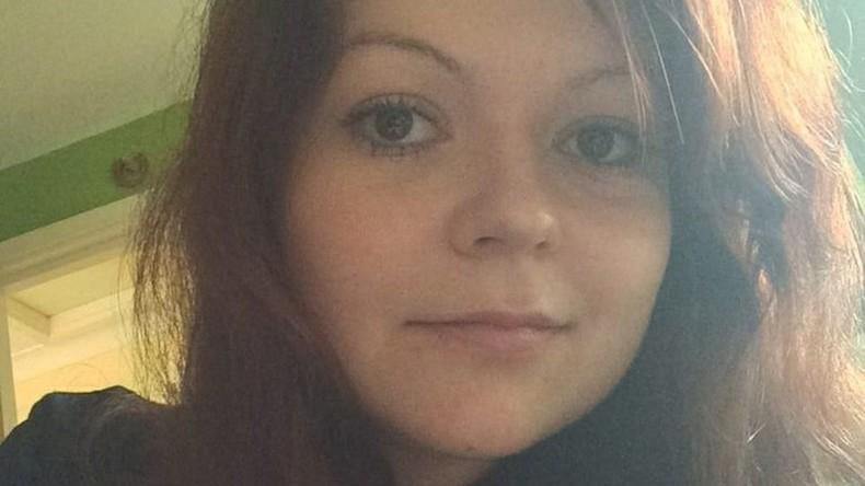 Skripal-Affäre: Tochter Julia offenbar aus dem Krankenhaus entlassen
