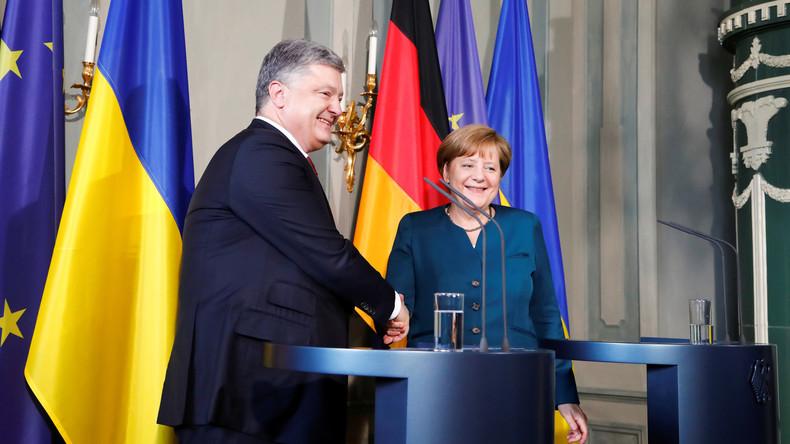LIVE: Angela Merkel und Petro Poroschenko halten gemeinsame Pressekonferenz in Berlin