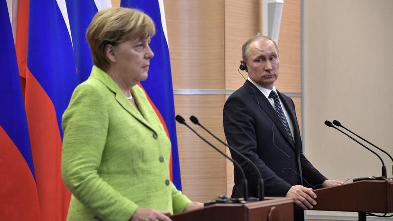 Telefonat zwischen Merkel und Putin: UN-Blauhelm-Einsatz in der Ostukraine auf der Agenda