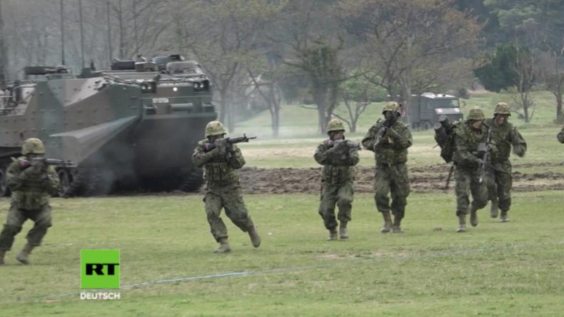 Japan präsentiert erste Elite-Marine-Einheit seit dem Zweiten Weltkrieg